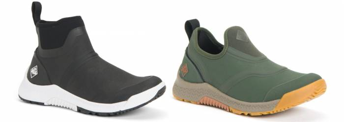 Muck Outscape garden shoes mid and low