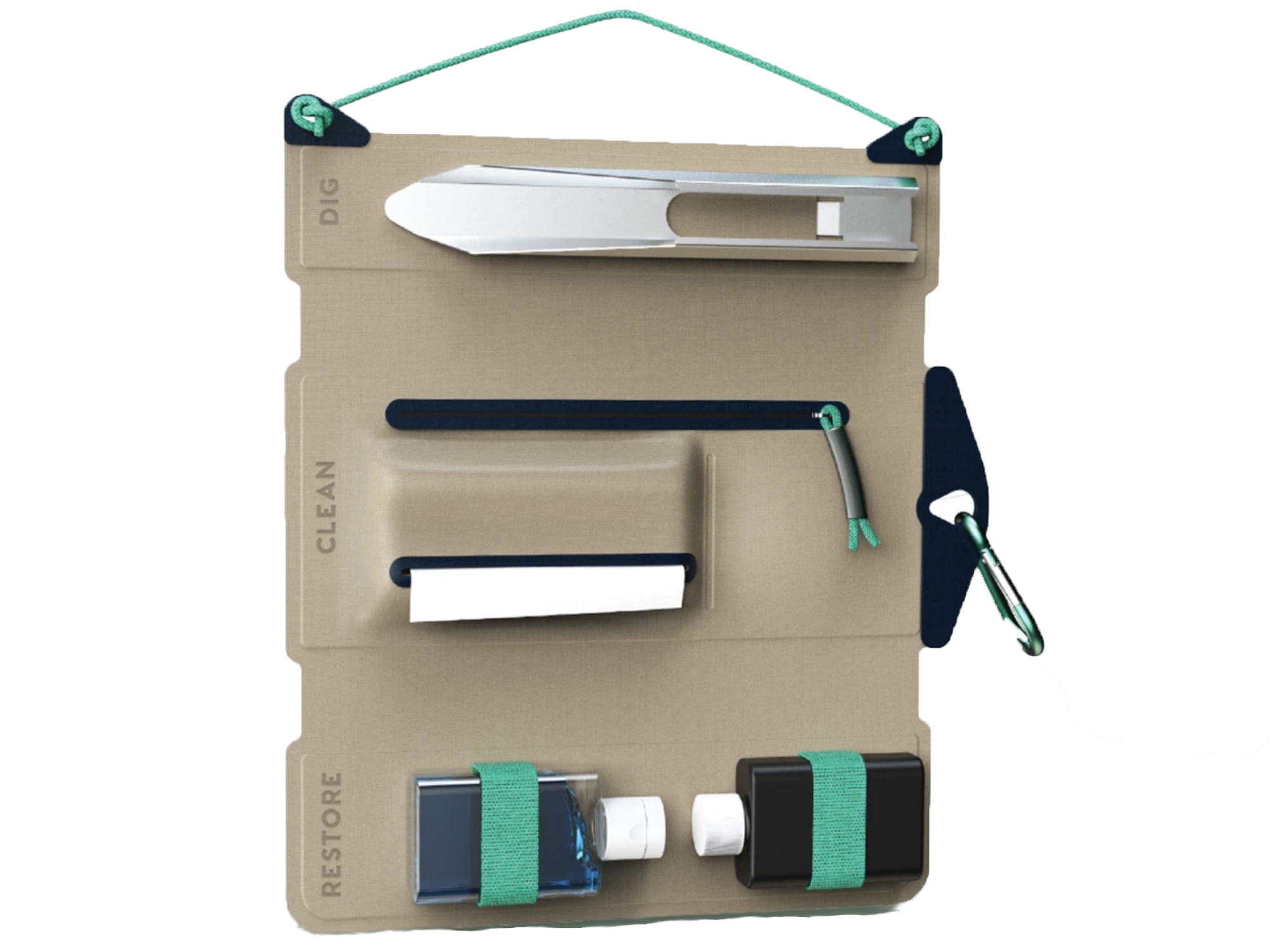PACT outdoors bathroom organizer bag
