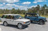 ECD Electric Tesla Range Rover Classic Custom Land Rover Defender