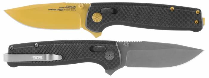 SOG Terminus XR LTE knife metal finishes