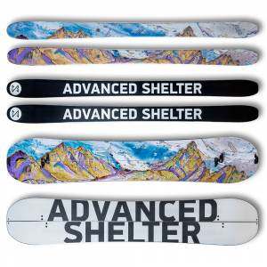 Advanced Shelter Skis and Splitboard