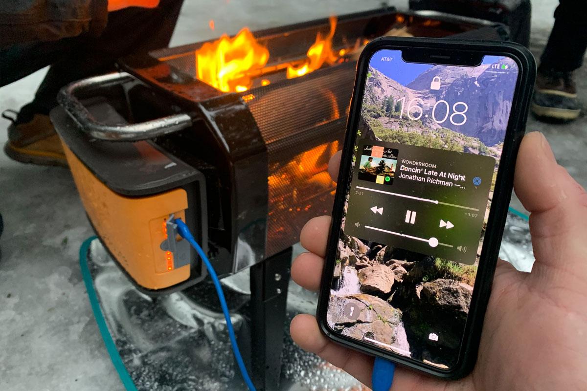 biolite firepit+ charging