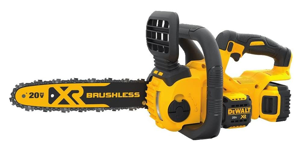 dewalt xr 12 in. 20-volt battery chainsaw kit