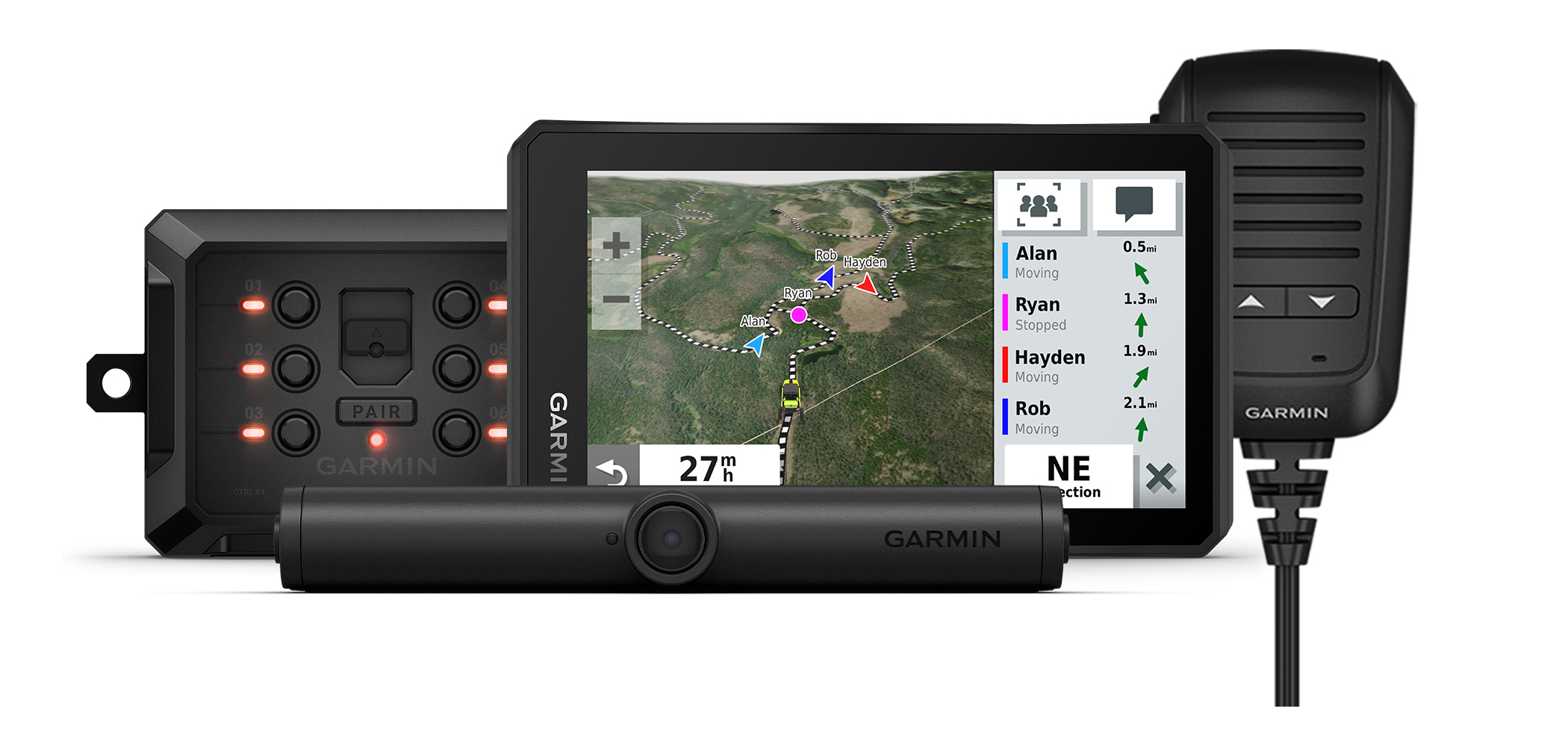 garmin tread, powerswitch, bc40