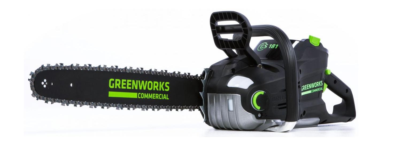greenworks gs181 82v 18 chainsaw