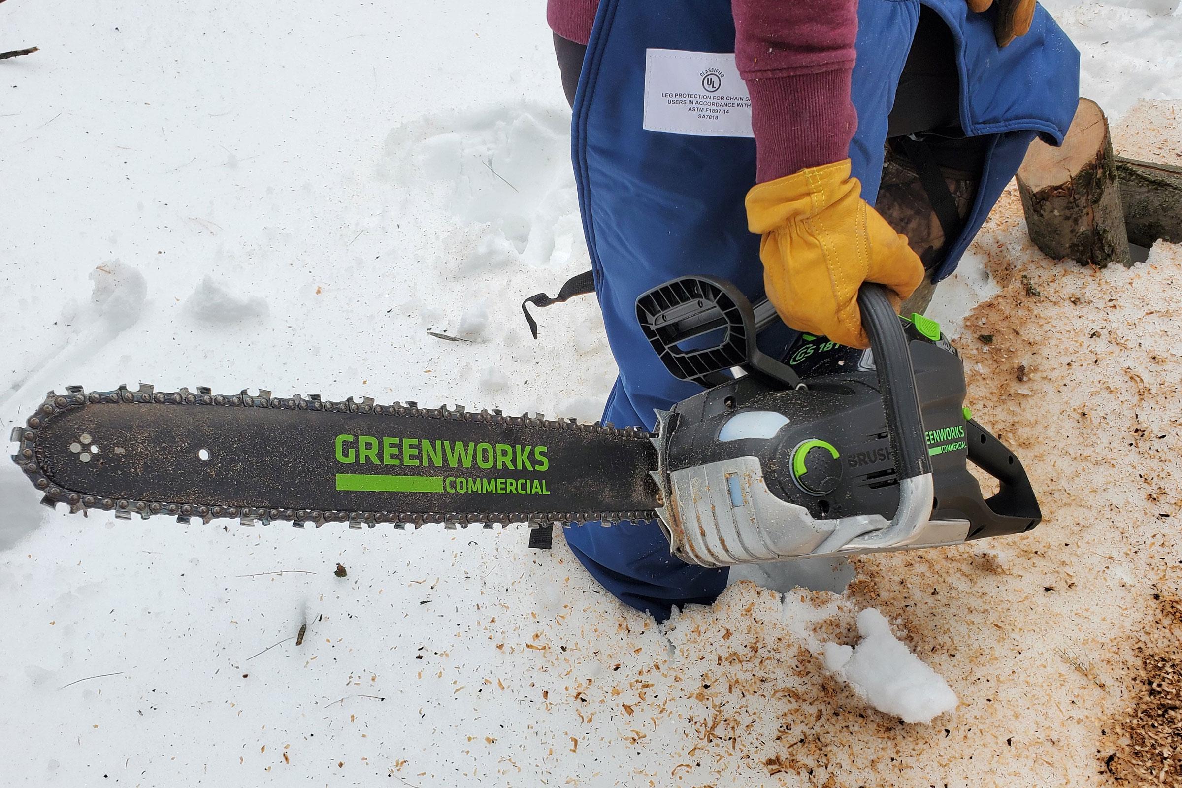 greenworks gs181 82v chainsaw
