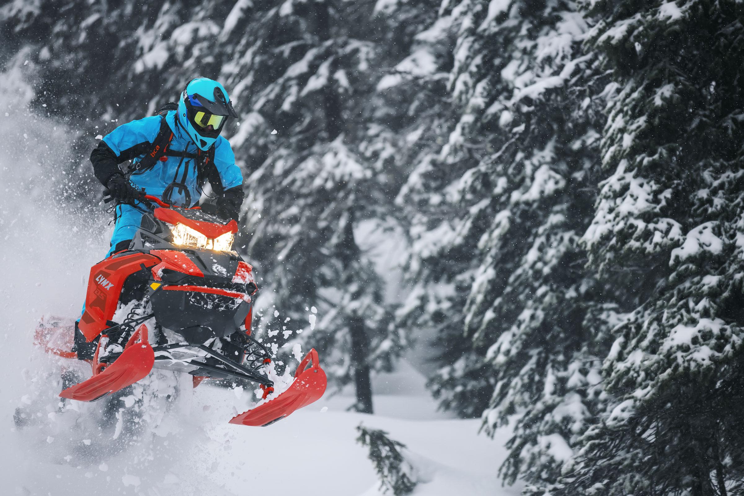 lynx snowmobiles: Boondocker DS