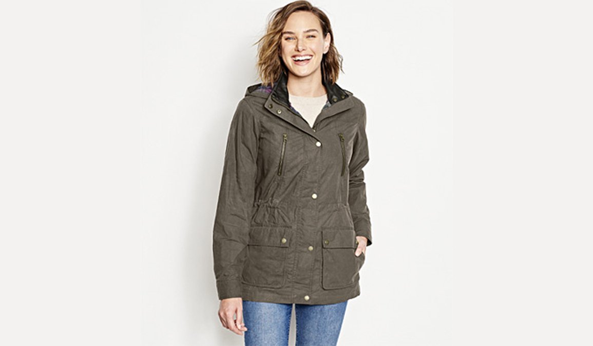 orvis waxed cotton jacket