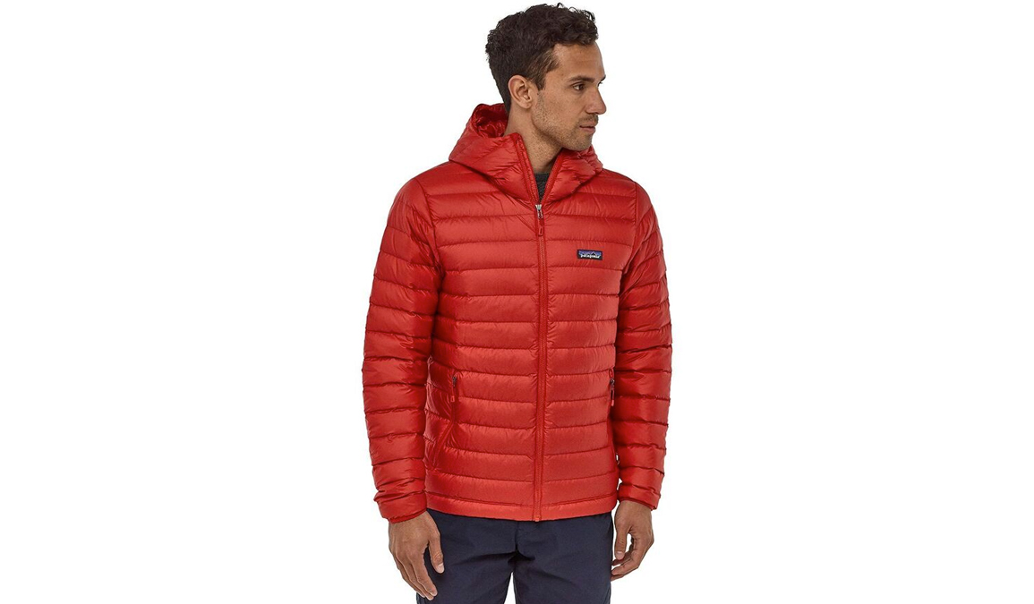 Patagonia mens hooded down sweater