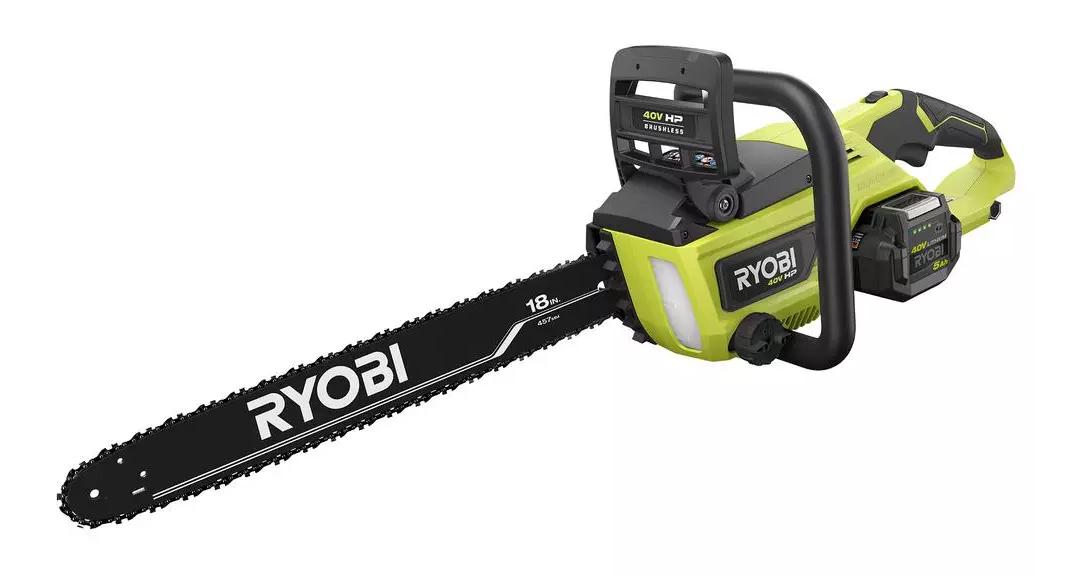 """ryobi 40 v hp 18"""" brushless chainsaw"""