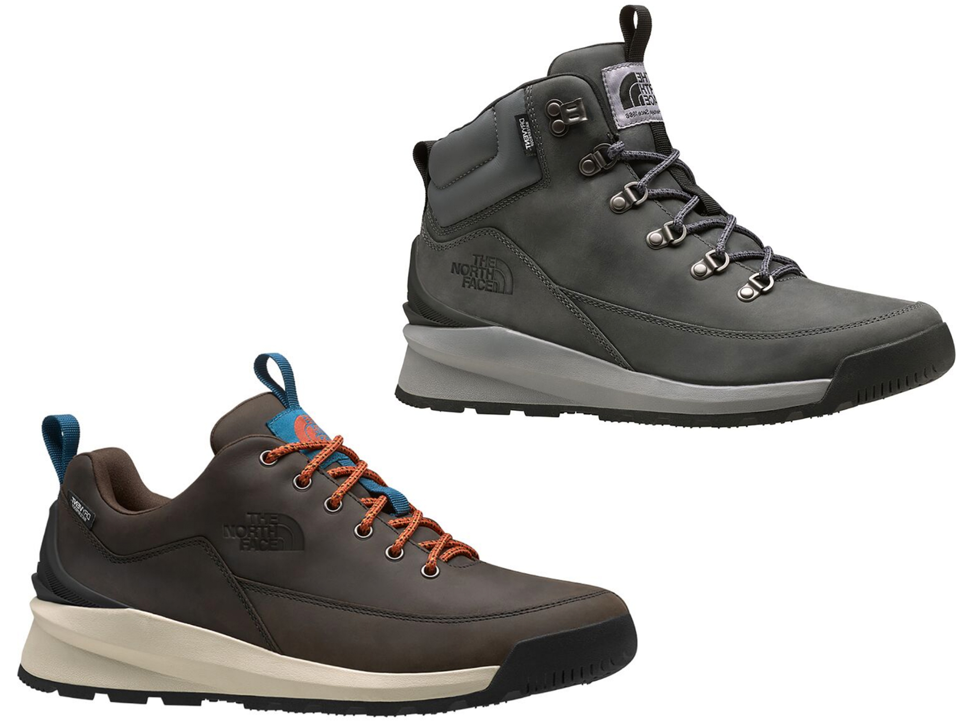 the north face berkeley boots in low and mid waterproof styles