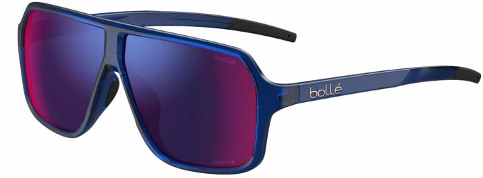 BOLLE PRIME - Navy Crystal Shiny - Volt+ Ultraviolet Polarized