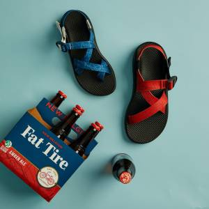 Chaco x Fat Tire Carbon-Conscious Sandals