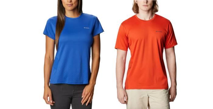 Columbia Zero Ice Cirro Cool short sleeve shirts