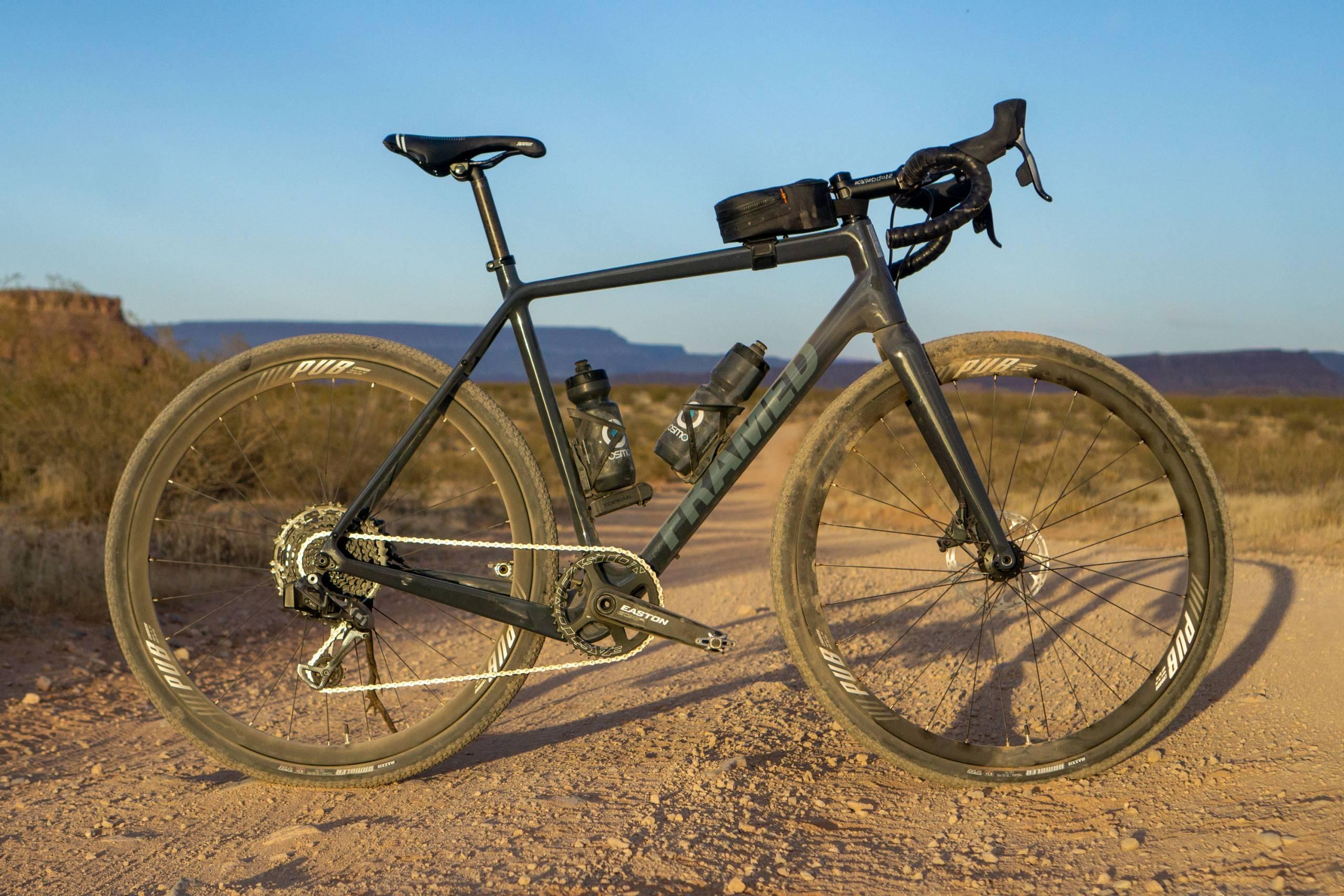 Framed Basswood bike