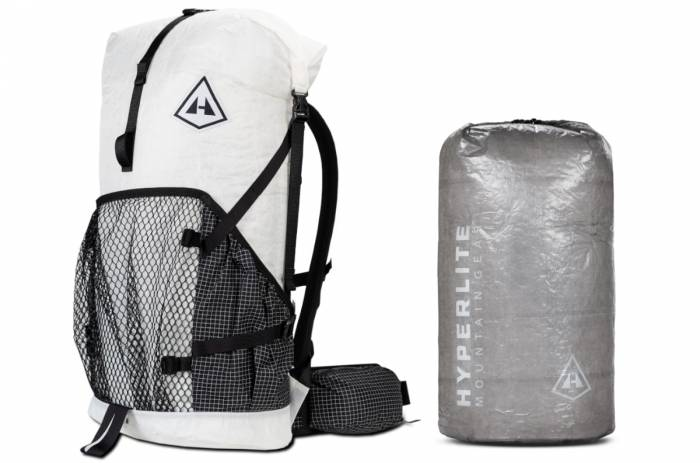 Hyperlite Mountain Gear backpack and pack sack