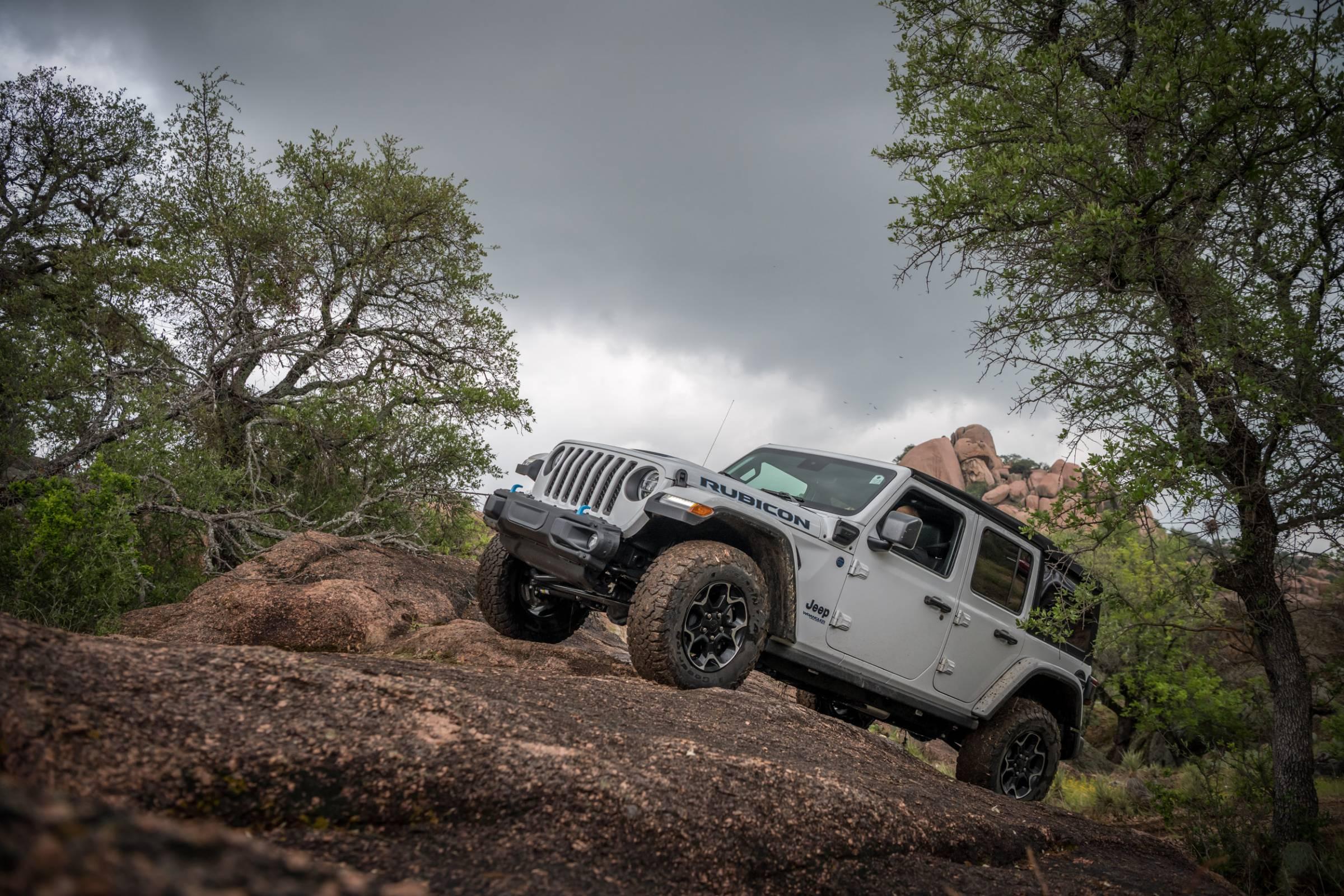 2021 Jeep Wrangler 4Xe Rubicon review