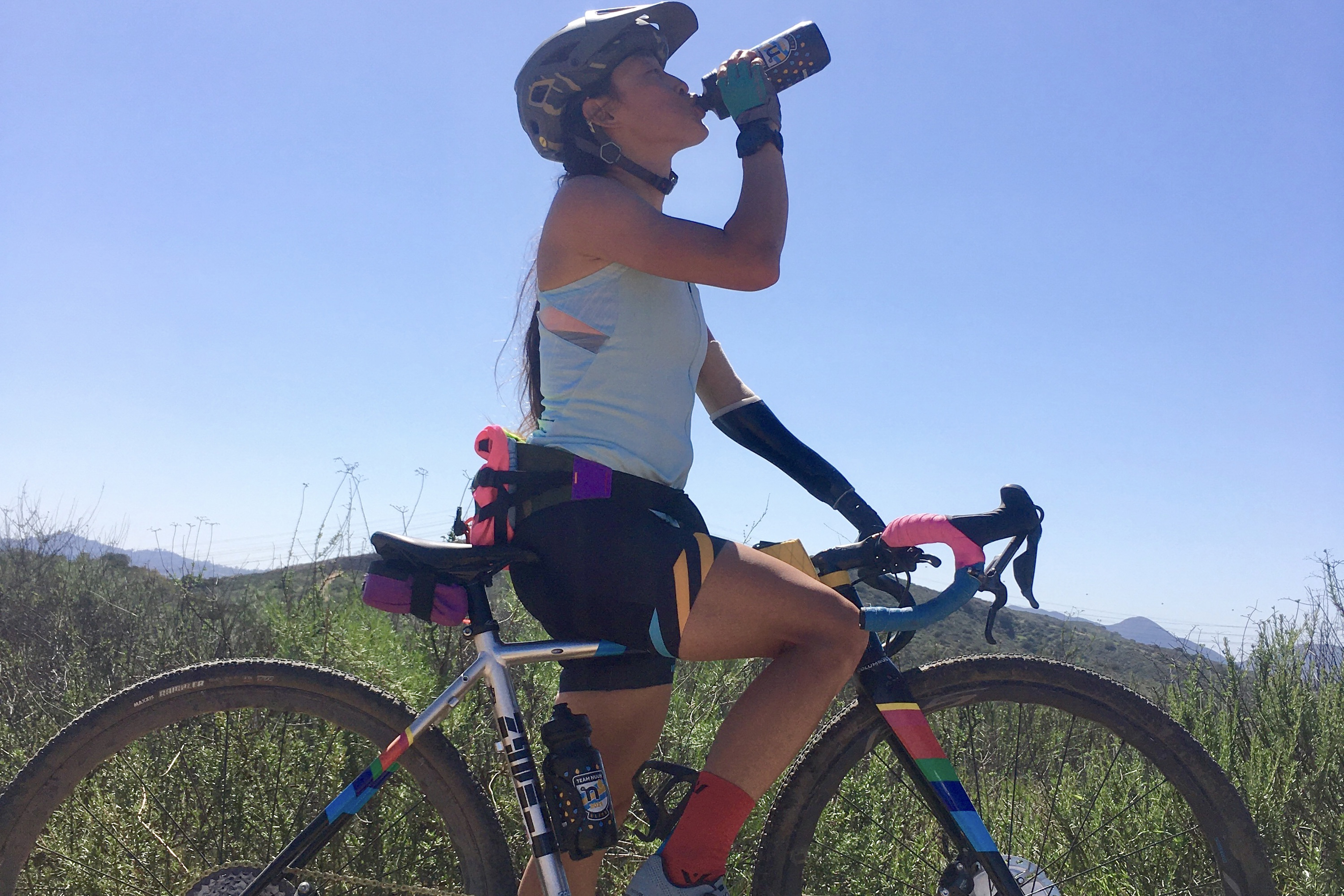 Josie Fouts adaptive MTB athlete