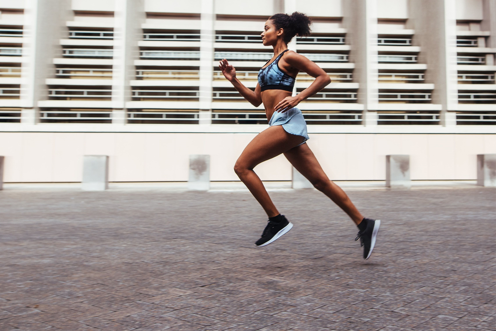 one-minute cutdown fartlek progression