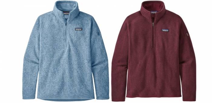 Patagonia Better Sweater 14 Zip Fleece Jacket Women