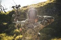 Mark Healey bow hunting in Hawaii