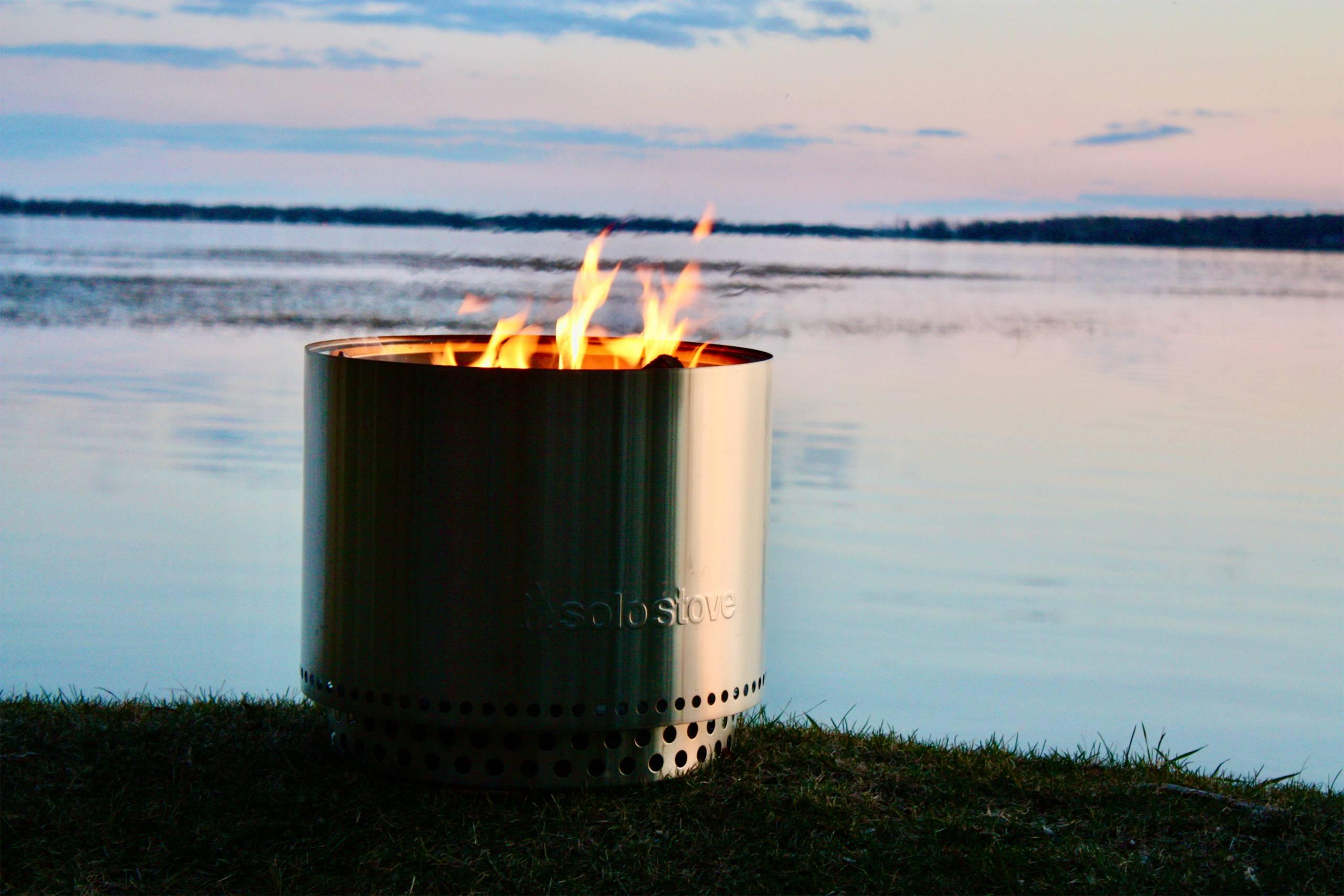 Solo oven campfire hearth