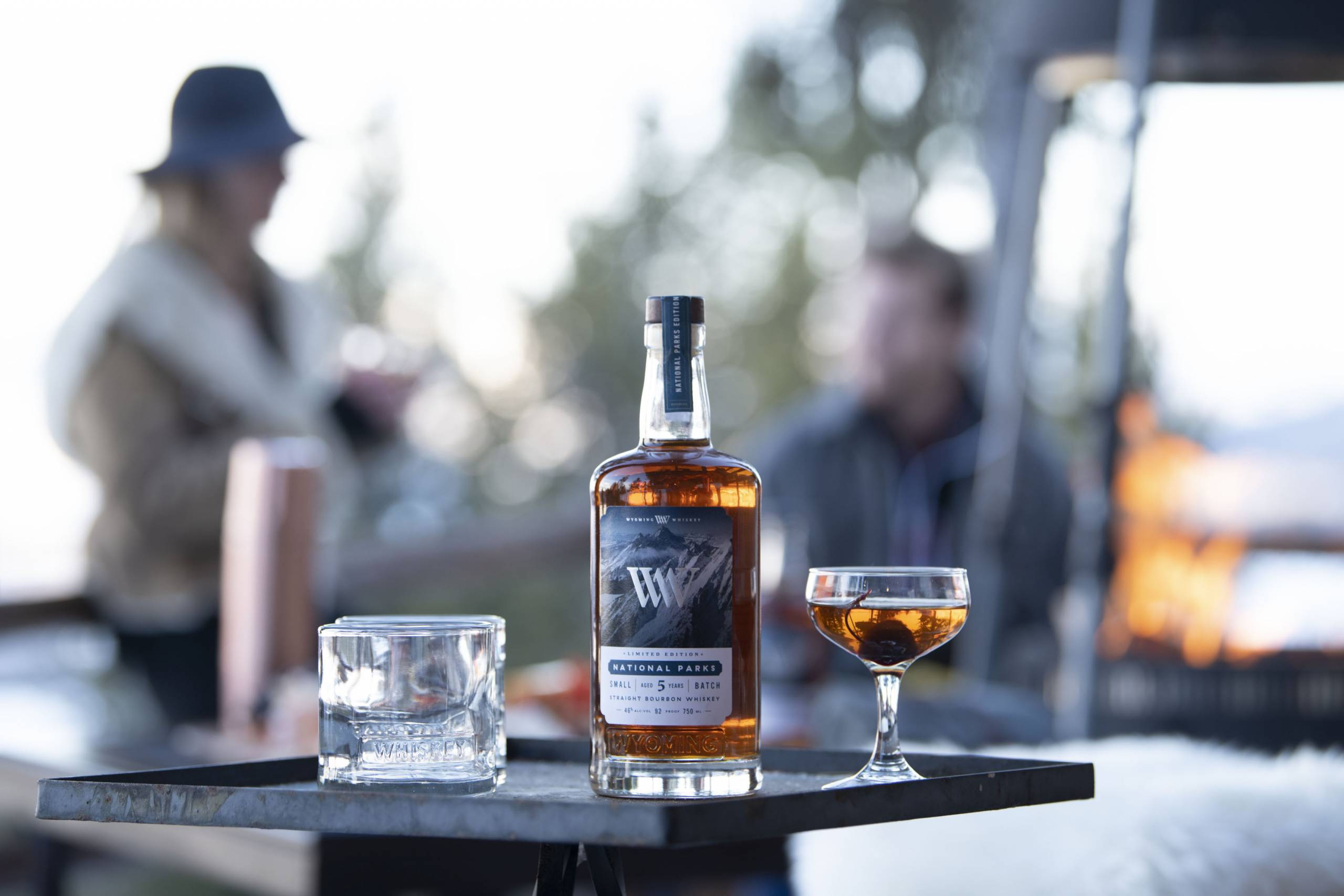 Wyoming Whiskey National Parks Limited Edition label