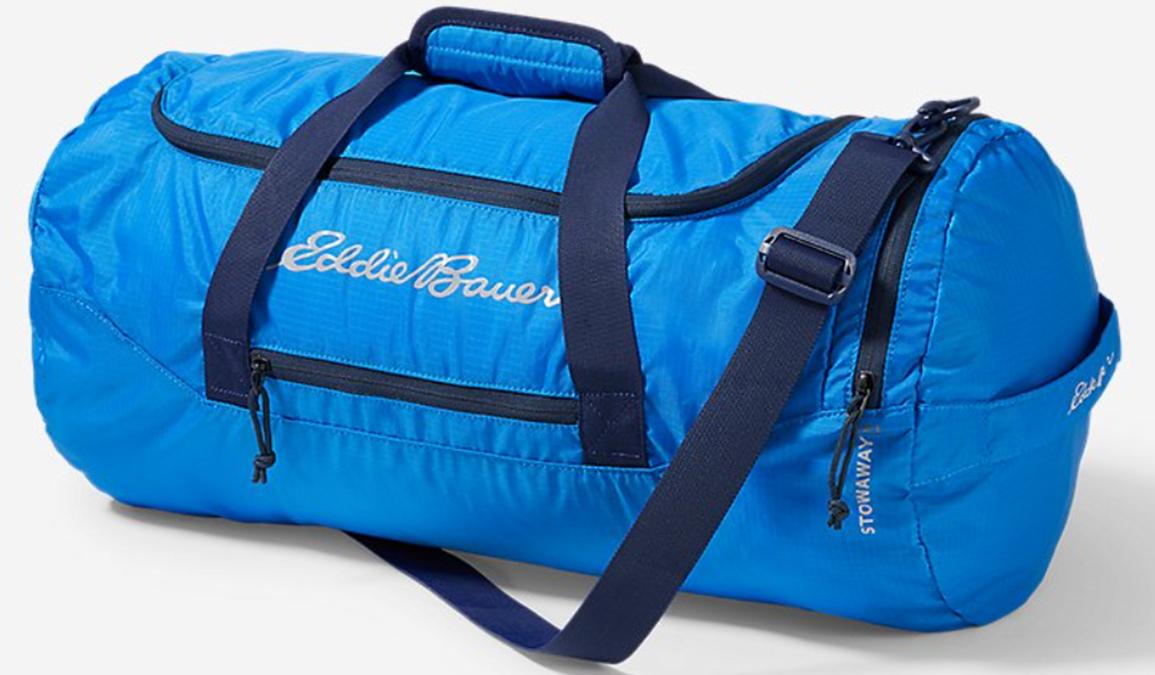 eddie bauer stowaway packable duffel