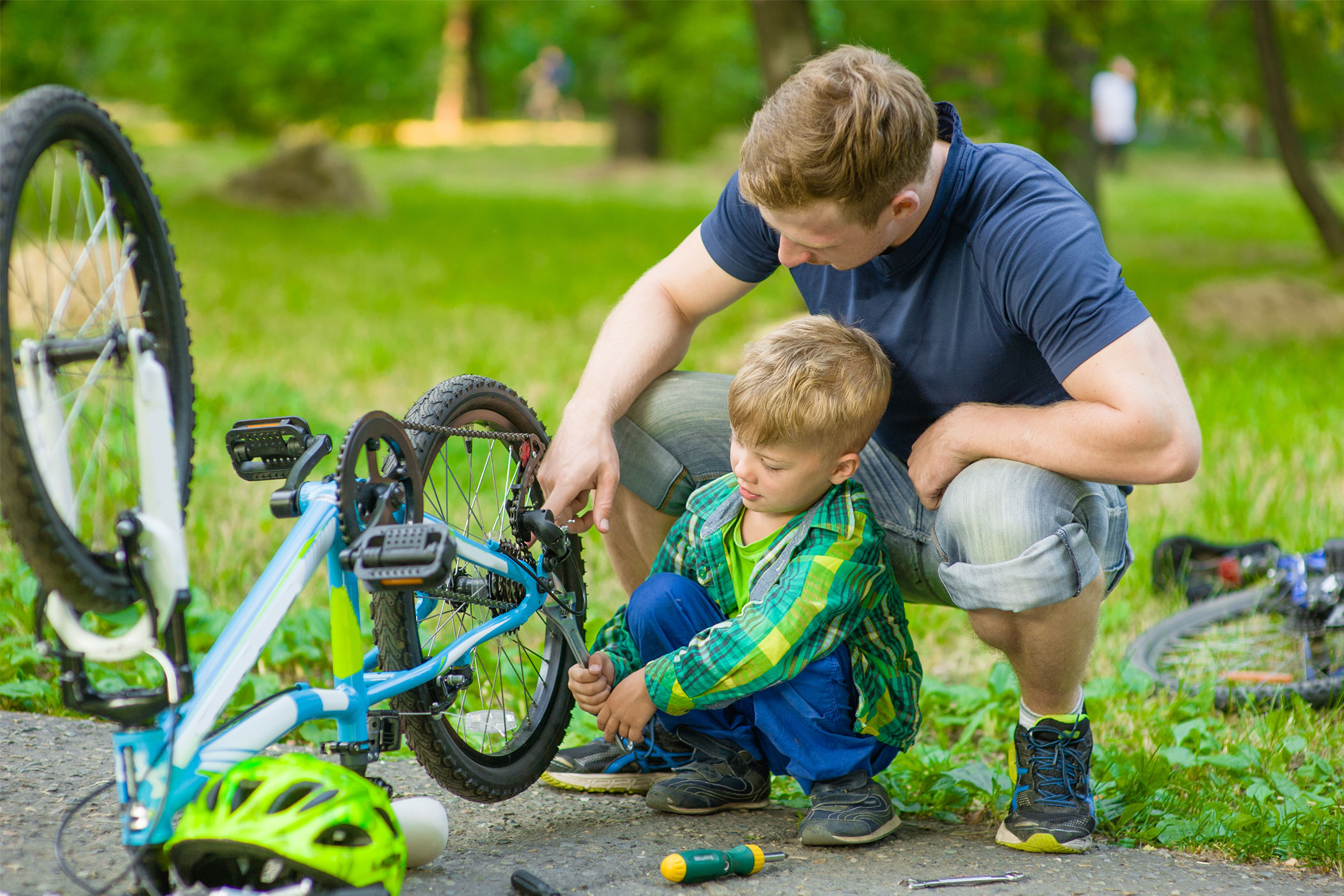 Repair bike