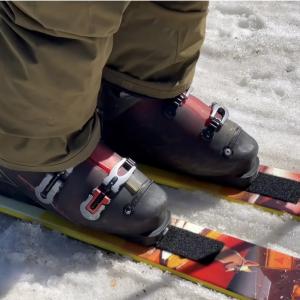 J Skis VelcroTek Carbon XT Bindings