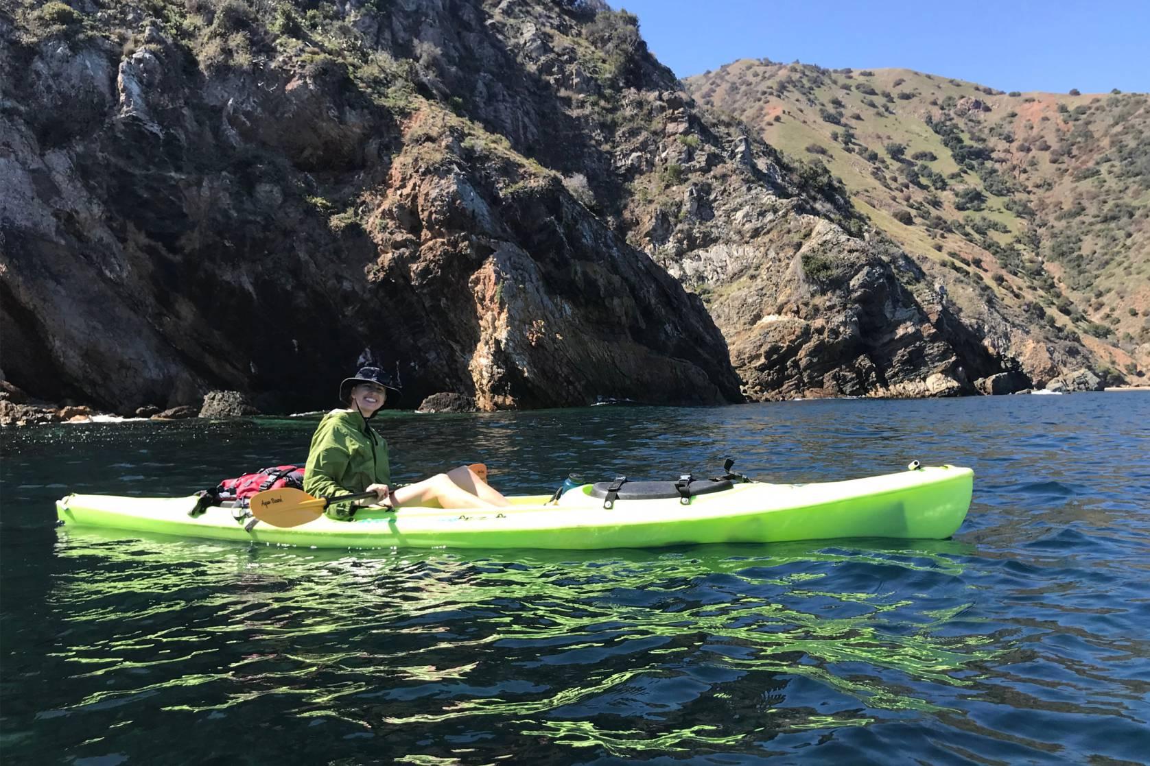 kayaking - catalina coast