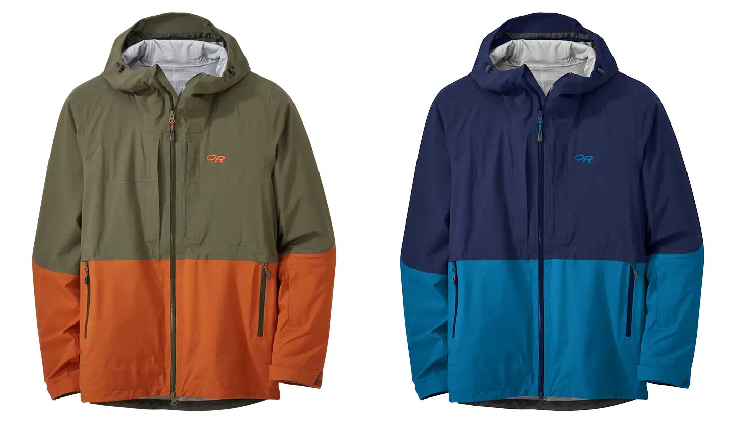 mens ski jacket :outdoor research carbide
