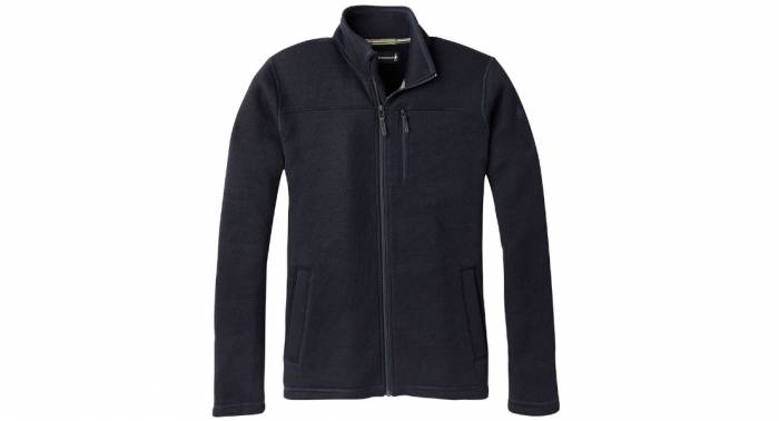 smartwool hudson trail full zip fleece jacket M
