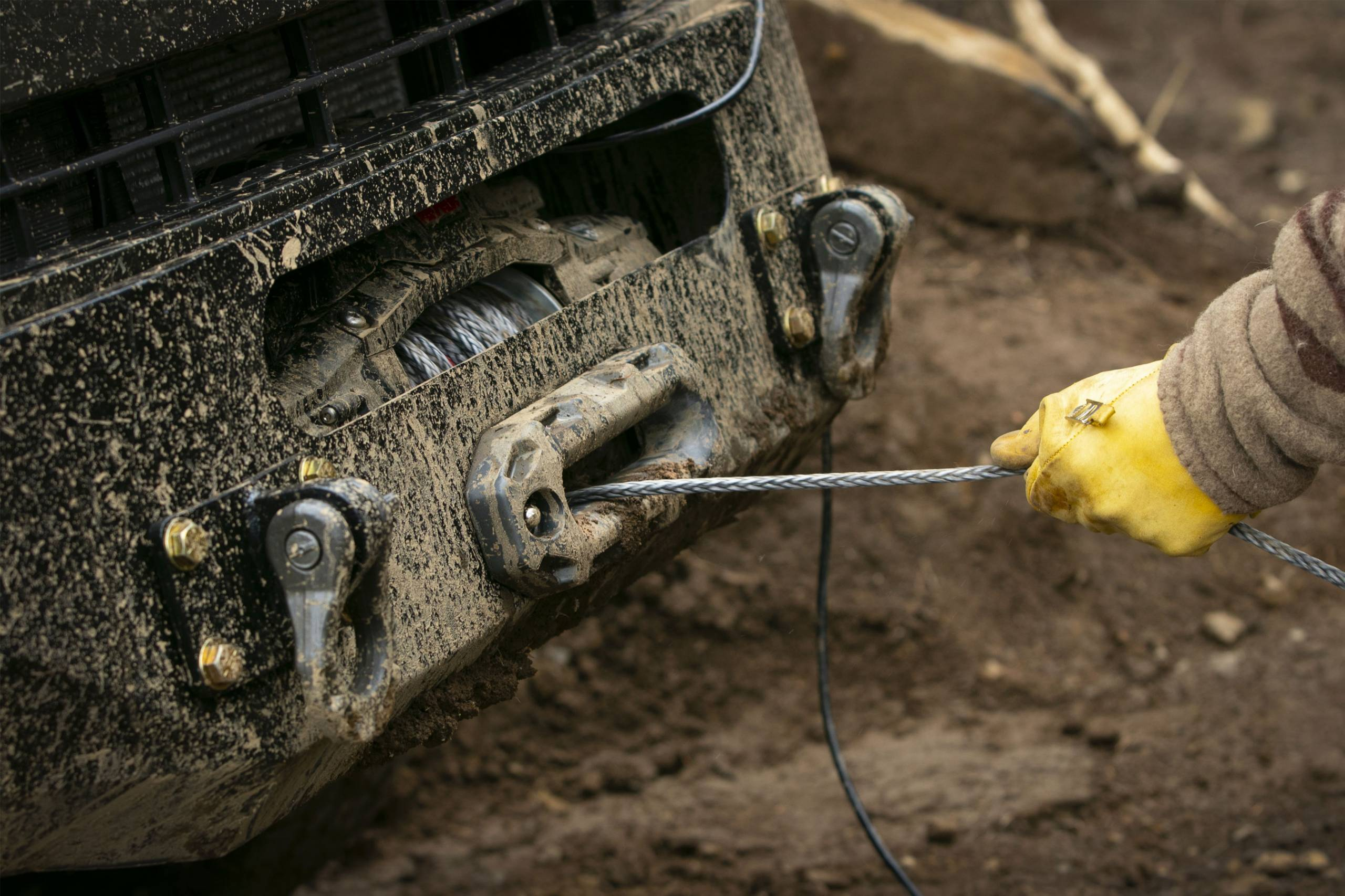 using a winch