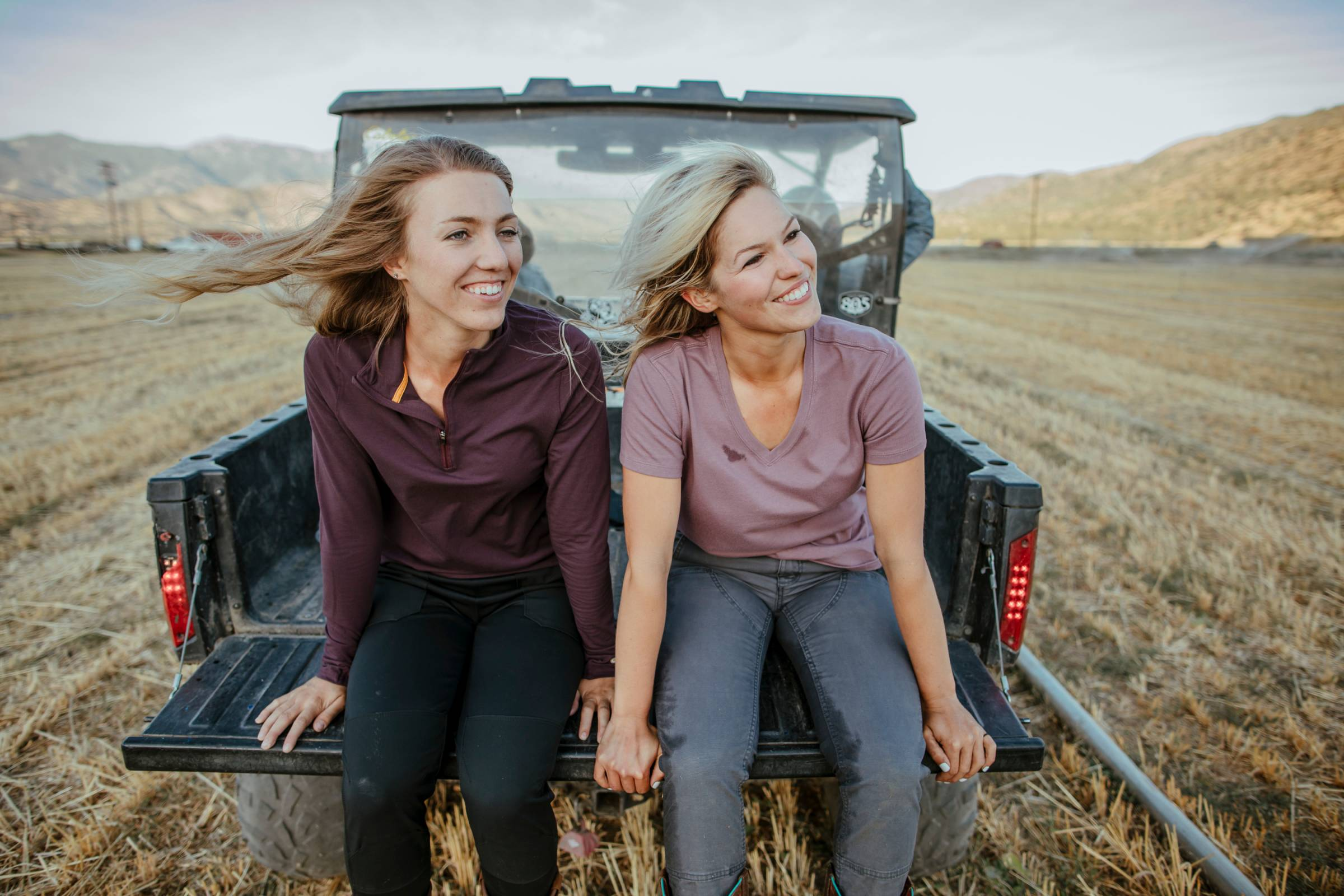 Carhartt Force apparel on women at ranch