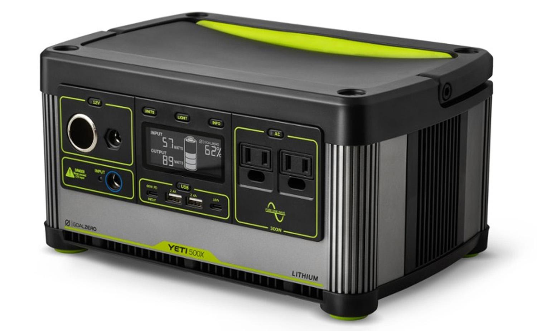 Goal Zero Yeti Lithium 500X Portable Power Station