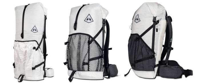 Hyperlite Mountain Gear ultralight backpacks