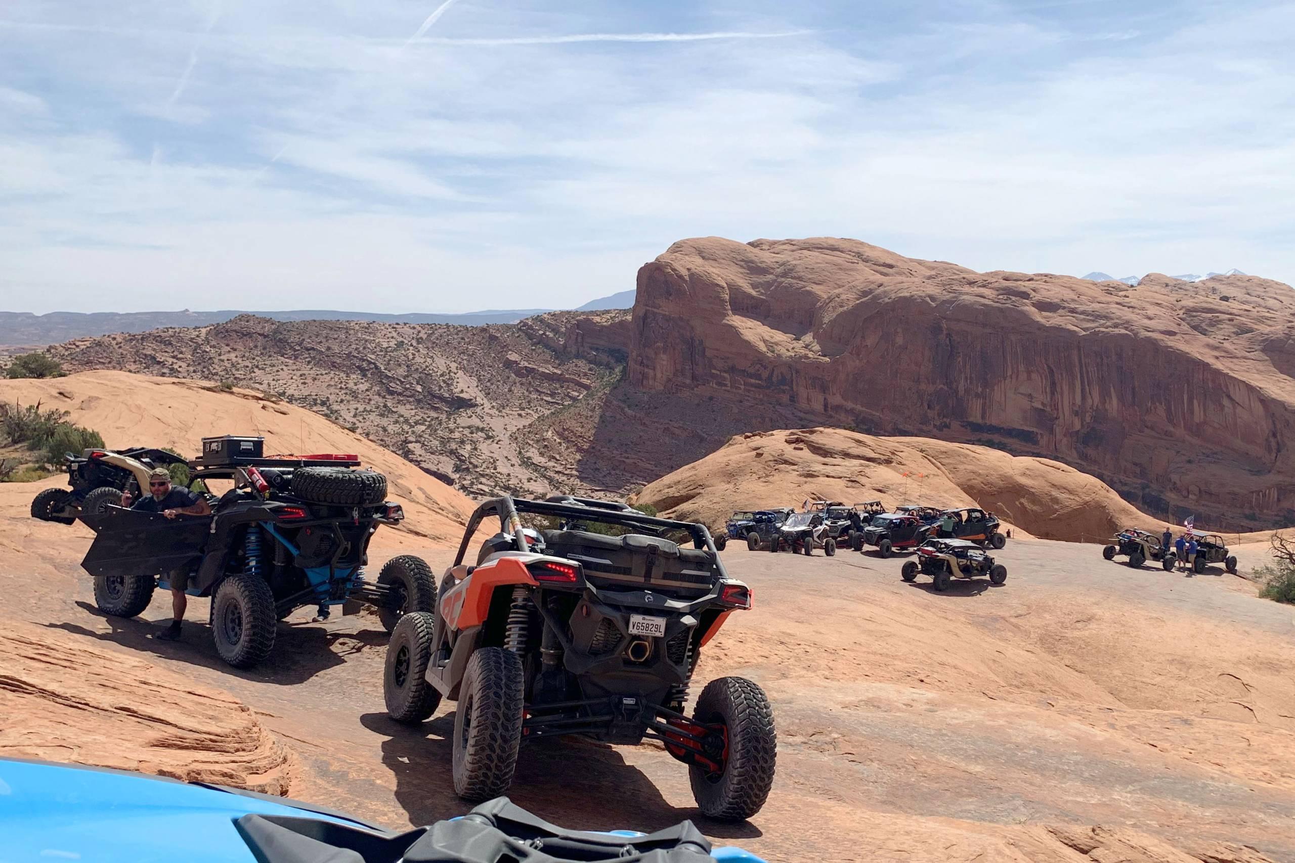 UTVs in Moab