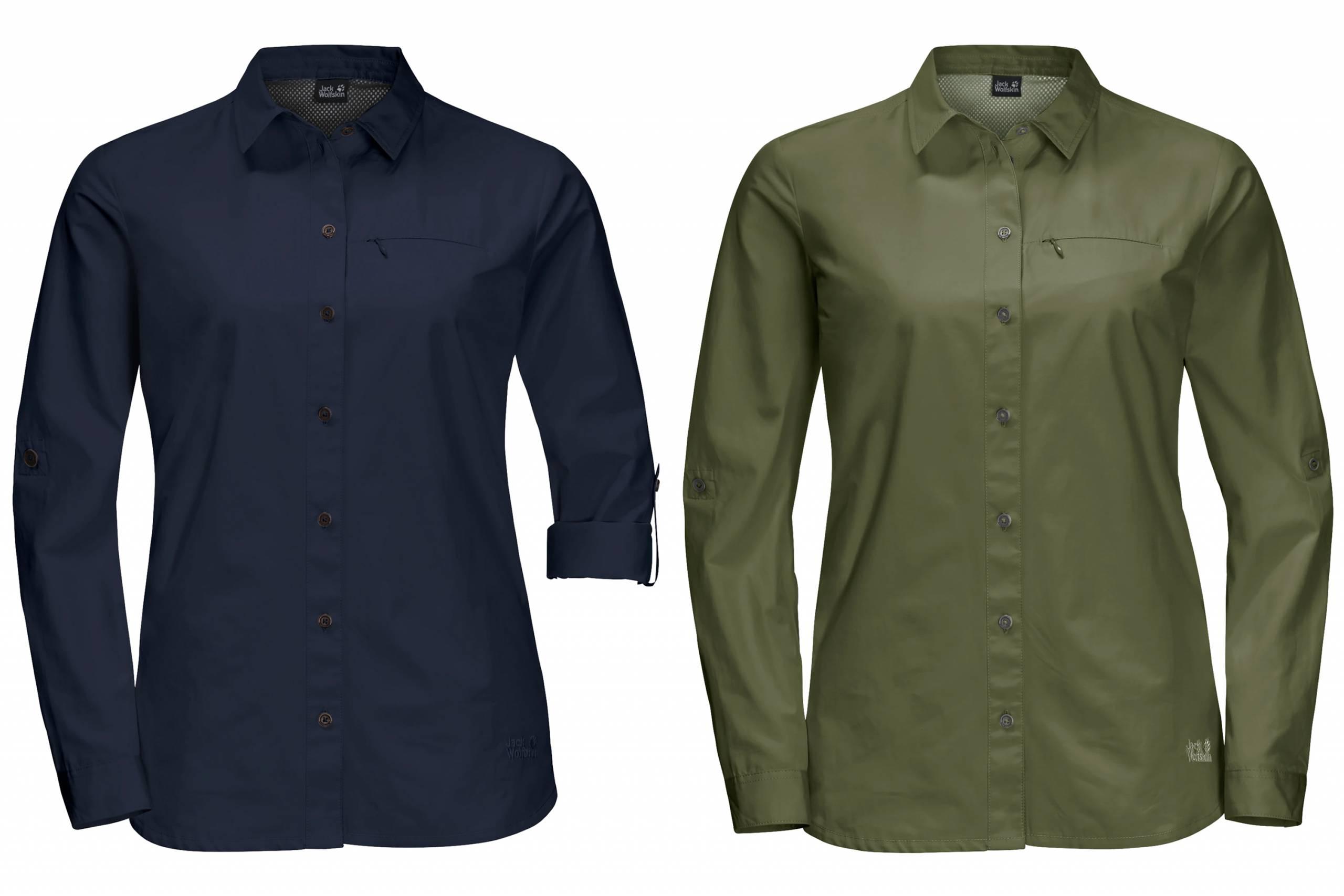 Jack Wolfskin Lakeside Roll-Up Shirt