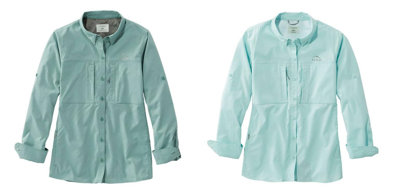 L.L. Bean Tropicwear Pro Stretch Shirt