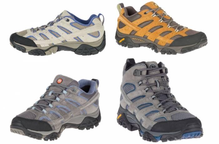 Merrell Moab 2 Ventilator and Waterproof GTX shoes