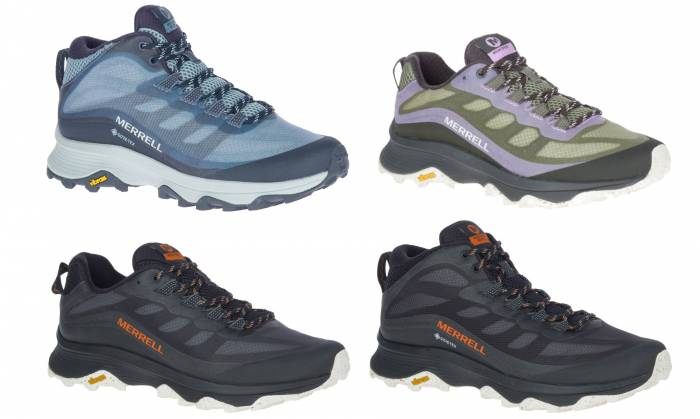 Merrell Moab Speed mid and low shoes