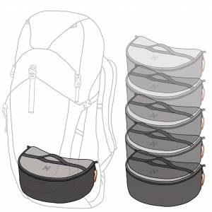 Hillsound PackStack Backpacking Cubes