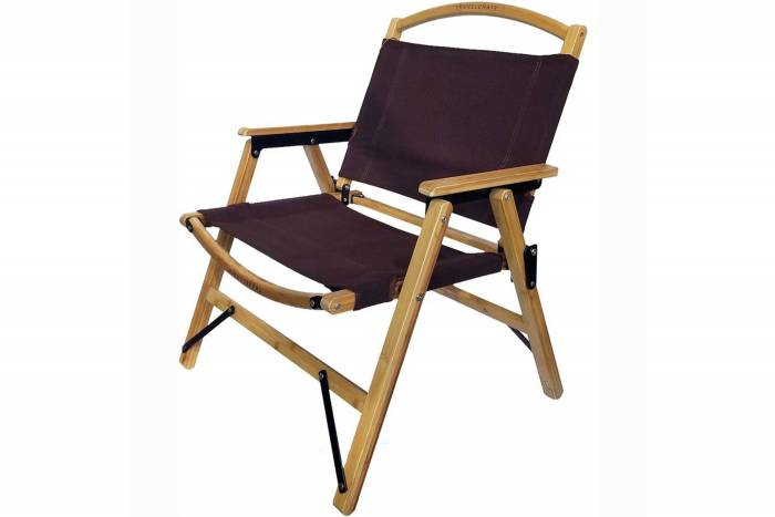 TRAVELCHAIR Bamboo Camp Chair