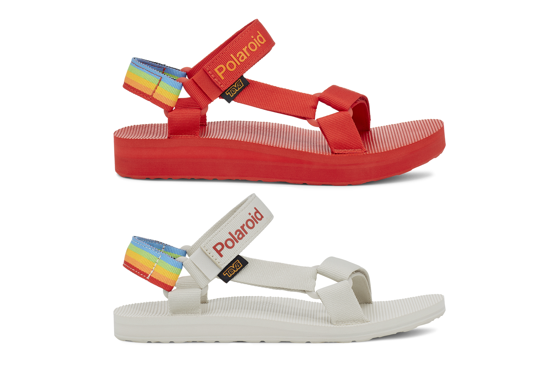 Teva x Polaroid sandals