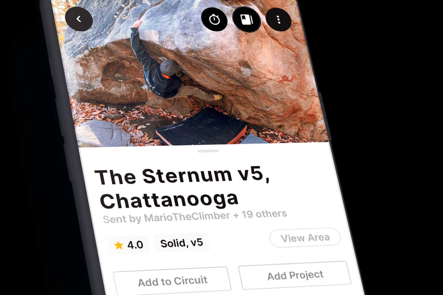 Kaya Climb App