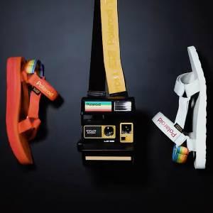Teva x Polaroid Retro Sandals