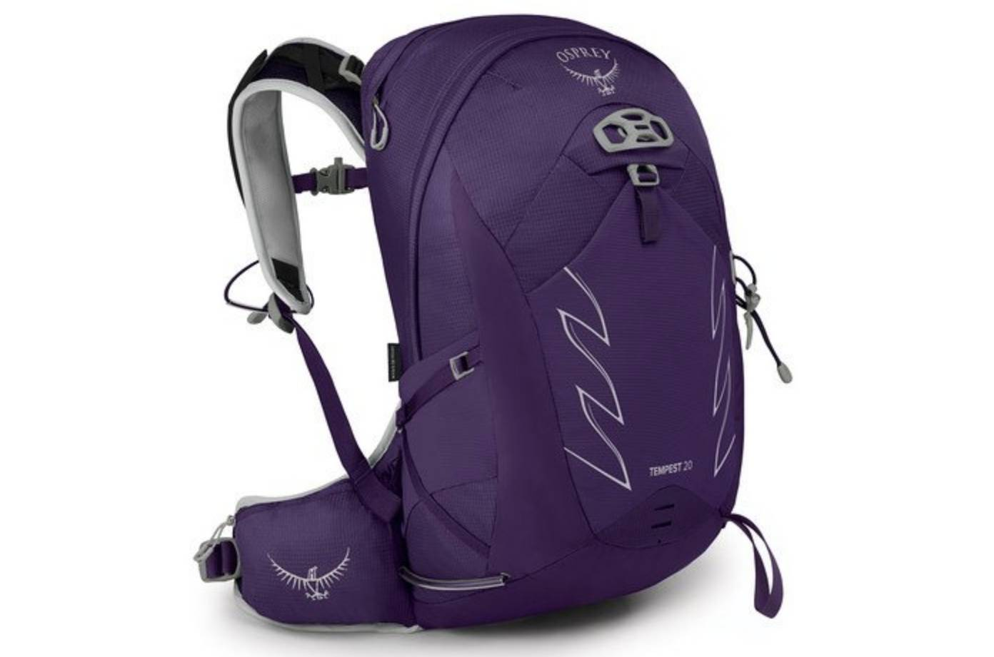 tempest 20 women's day pack in dark purple