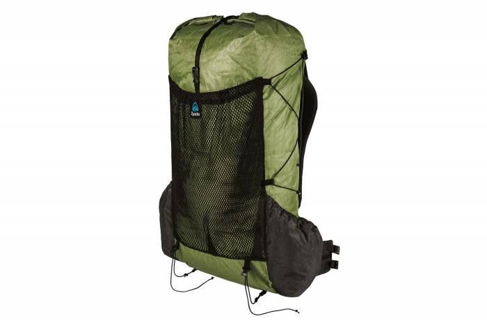 zpacks arc blast 55 ultralight backpacking pack