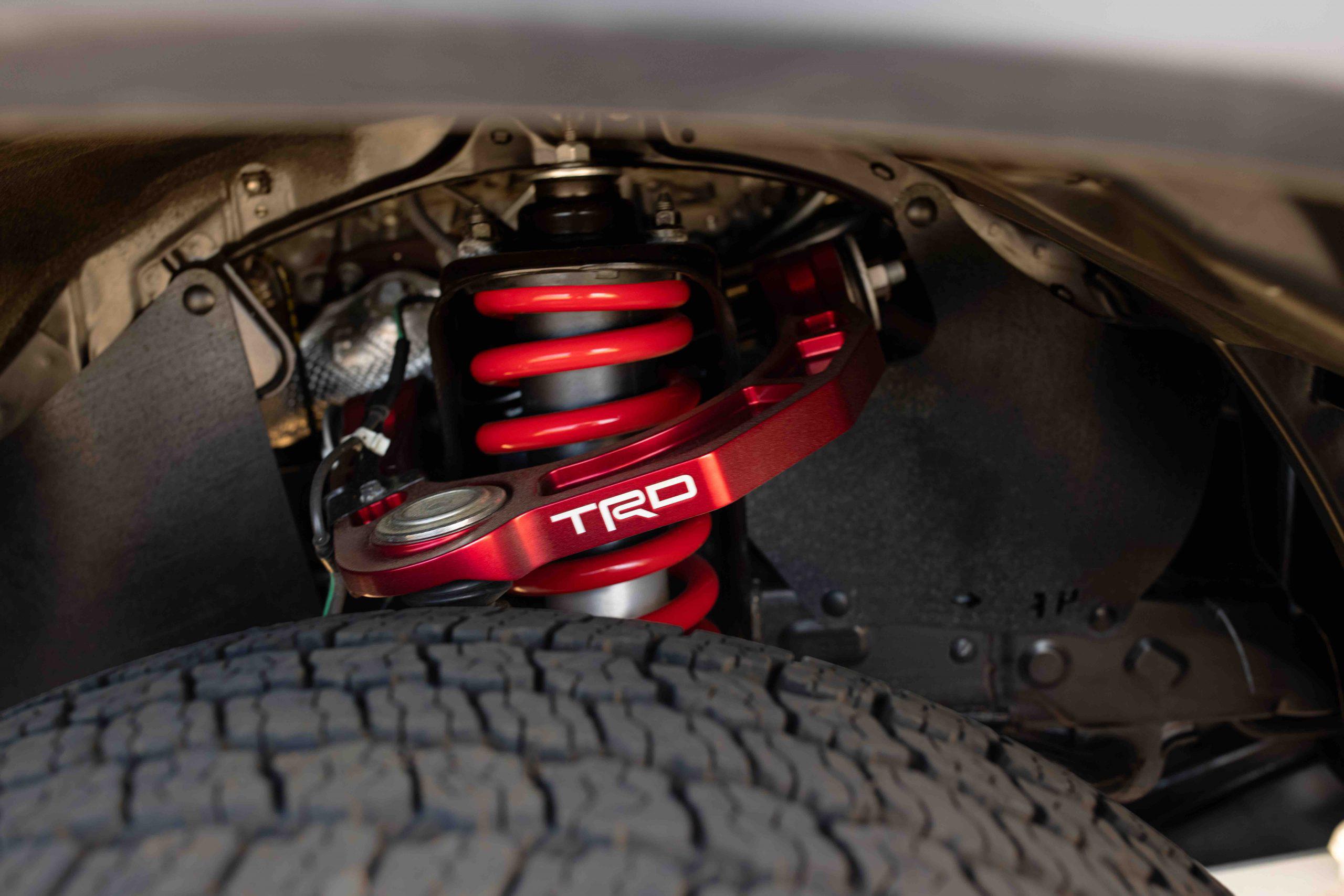 Toyota TRD Pro shocks